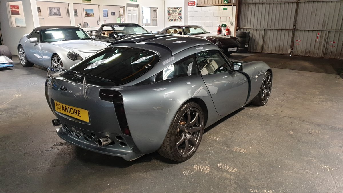 2003 Stunning TVR T350T Iced Titanium Powers engine 33700 miles For Sale (picture 6 of 12)