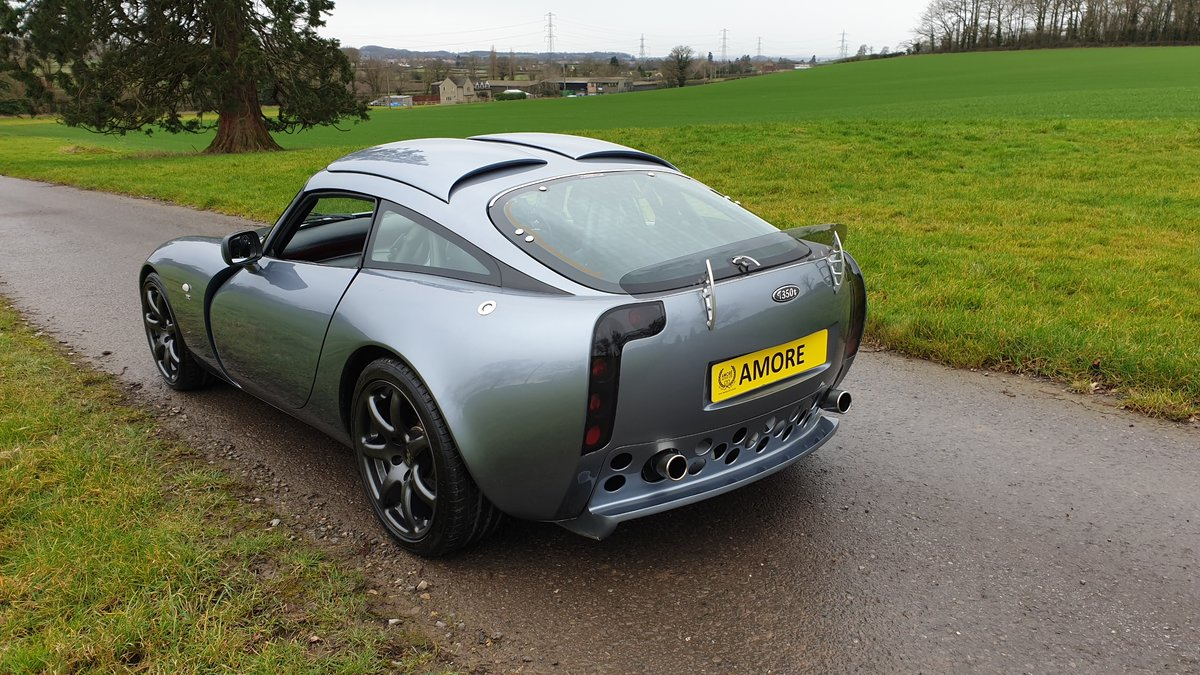 2003 Stunning TVR T350T Iced Titanium Powers engine 33700 miles For Sale (picture 7 of 12)