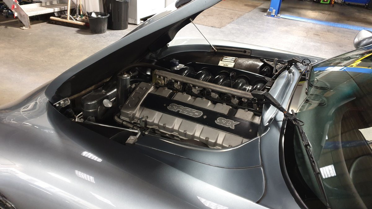 2003 Stunning TVR T350T Iced Titanium Powers engine 33700 miles For Sale (picture 10 of 12)