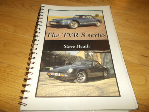 0000 tvr s series reference book For Sale (picture 1 of 2)