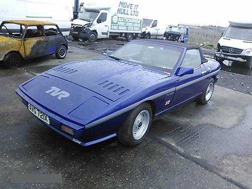 1982 TVR  BLUE 2,8i TASMIN CONVERTIBLE  FANTASTIC CONDITION  For Sale (picture 1 of 6)