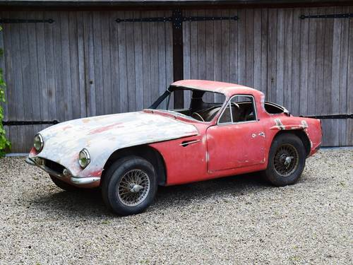 1963 TVR Grantura MkIII project. Perfect base for a racecar. SOLD (picture 1 of 6)