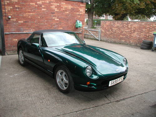 1998 Green TVR Chimaera – £12,950.00 SOLD (picture 2 of 6)