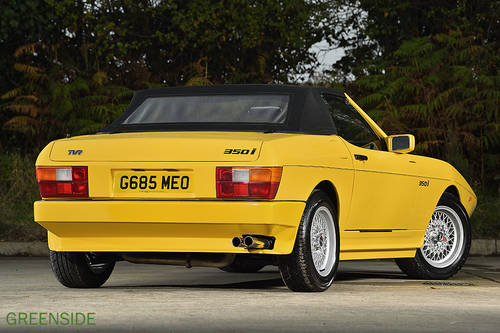 1989 rhd UK TVR 350i Manual EXCEPTIONAL,  Under Offer!! SOLD (picture 4 of 6)
