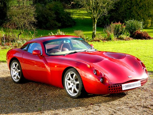 2000  - NOW SOLD TVR TUSCAN FACTORY RED ROSE - Stunning colour! For Sale (picture 1 of 6)