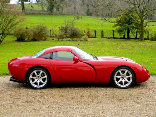 2000  - NOW SOLD TVR TUSCAN FACTORY RED ROSE - Stunning colour! For Sale (picture 2 of 6)