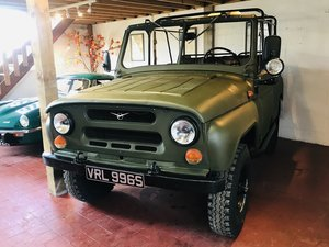 1978 UAZ 469B Russian Military Truck For Sale