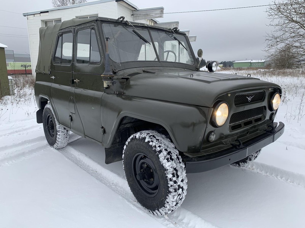 1978 UAZ 469 from military storage For Sale (picture 1 of 10)