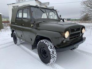 UAZ 469 from military storage