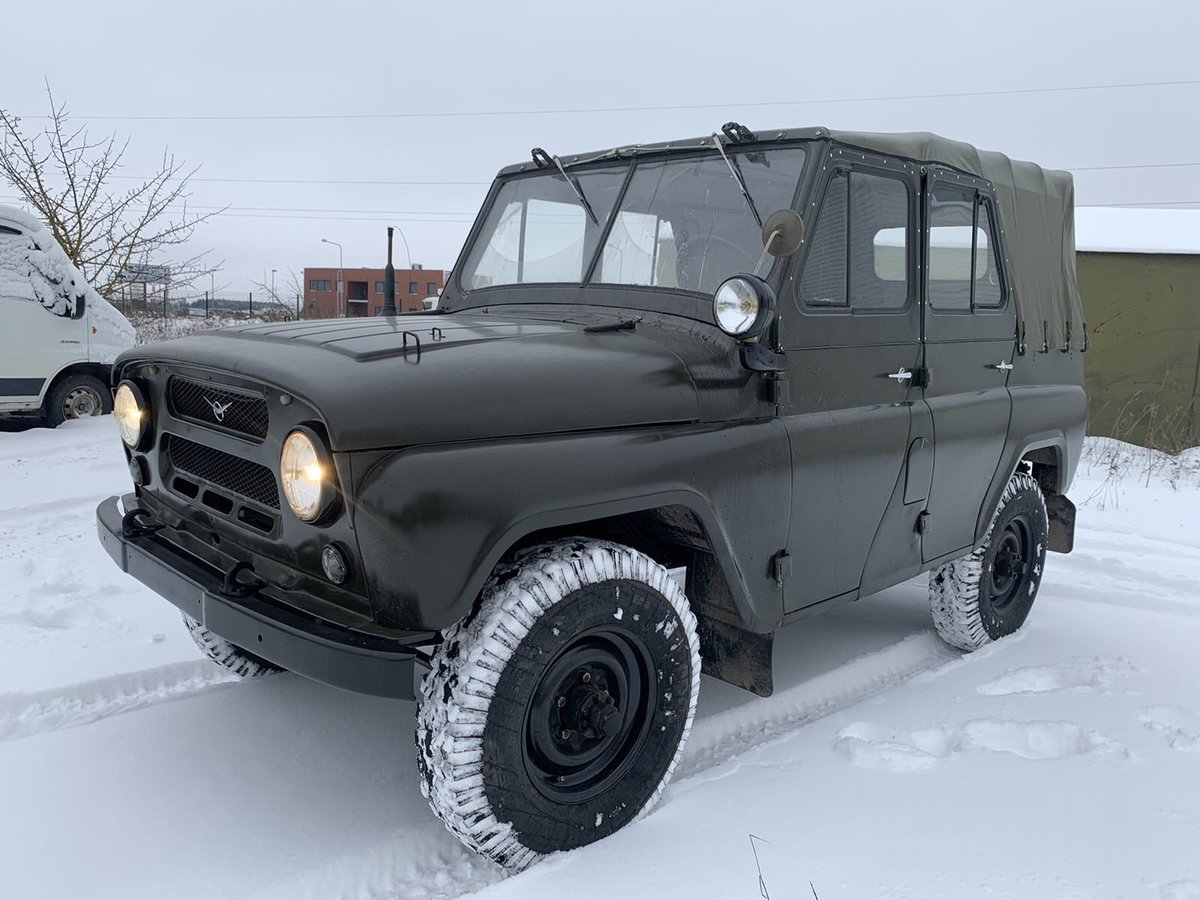 1978 UAZ 469 from military storage For Sale (picture 2 of 10)