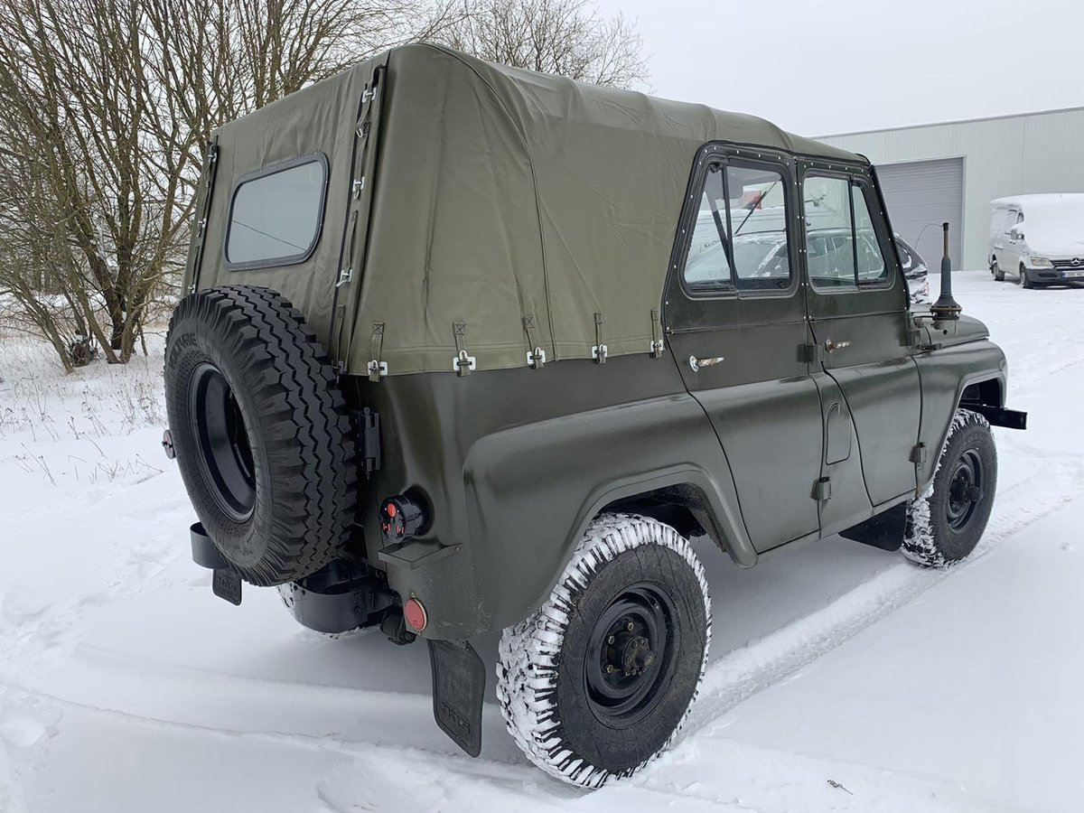 1978 UAZ 469 from military storage For Sale (picture 3 of 10)