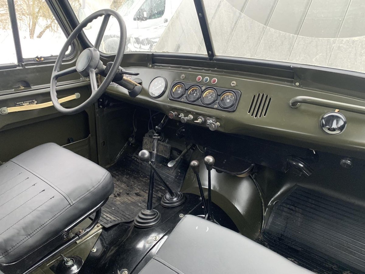 1978 UAZ 469 from military storage For Sale (picture 6 of 10)