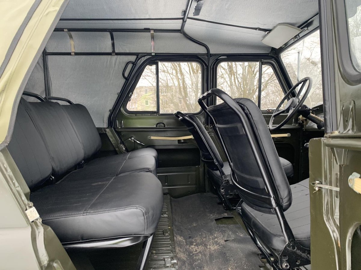 1978 UAZ 469 from military storage For Sale (picture 8 of 10)