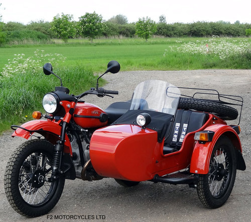 2015 Ural 750 EFI Tourist low mileage, 1 owner, perfect SOLD (picture 1 of 6)