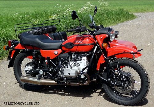 2015 Ural 750 EFI Tourist low mileage, 1 owner, perfect SOLD (picture 3 of 6)