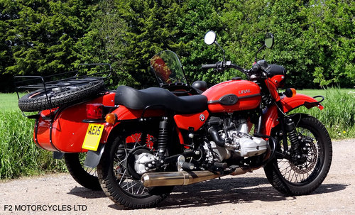 2015 Ural 750 EFI Tourist low mileage, 1 owner, perfect SOLD (picture 4 of 6)