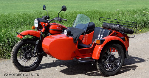 2015 Ural 750 EFI Tourist low mileage, 1 owner, perfect SOLD (picture 5 of 6)