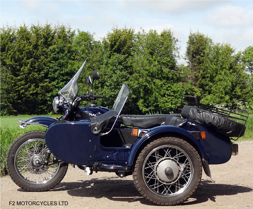 2007 Ural 750 Dalesman/Tourist, serviced and ready to ride SOLD (picture 1 of 6)