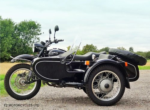 2010 Ural 750 Tourist low mileage, 1 owner, ready to ride.  SOLD (picture 6 of 6)