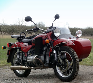 2011 Ural 750 Tourist, low mileage, UK spec, ready to ride SOLD