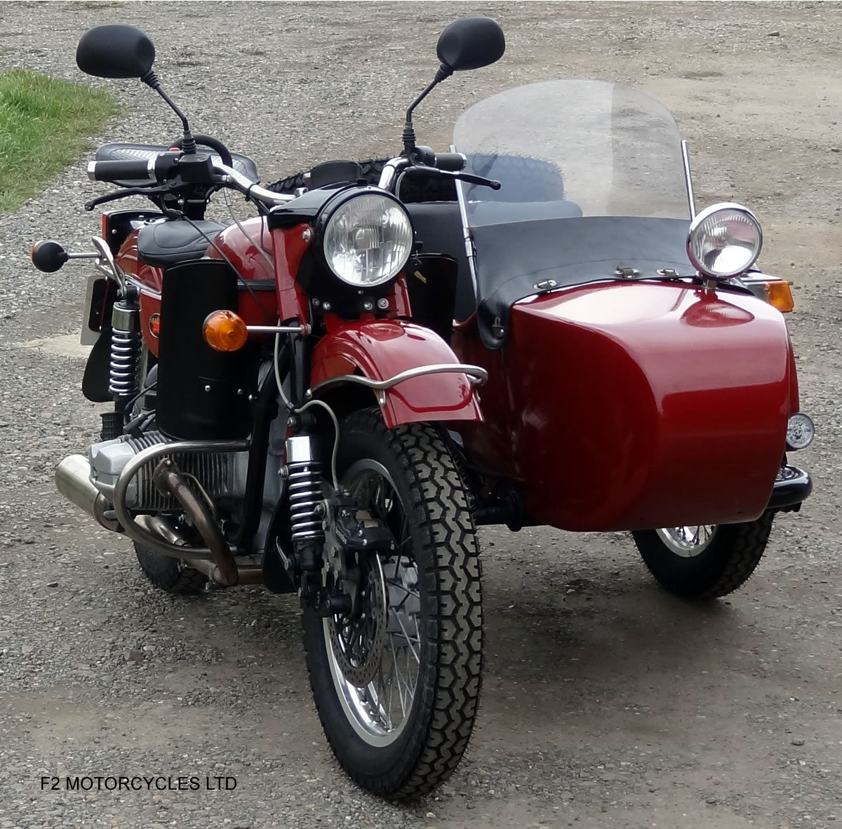 2011 Ural 750 Tourist, low mileage, UK spec, ready to ride SOLD (picture 3 of 6)