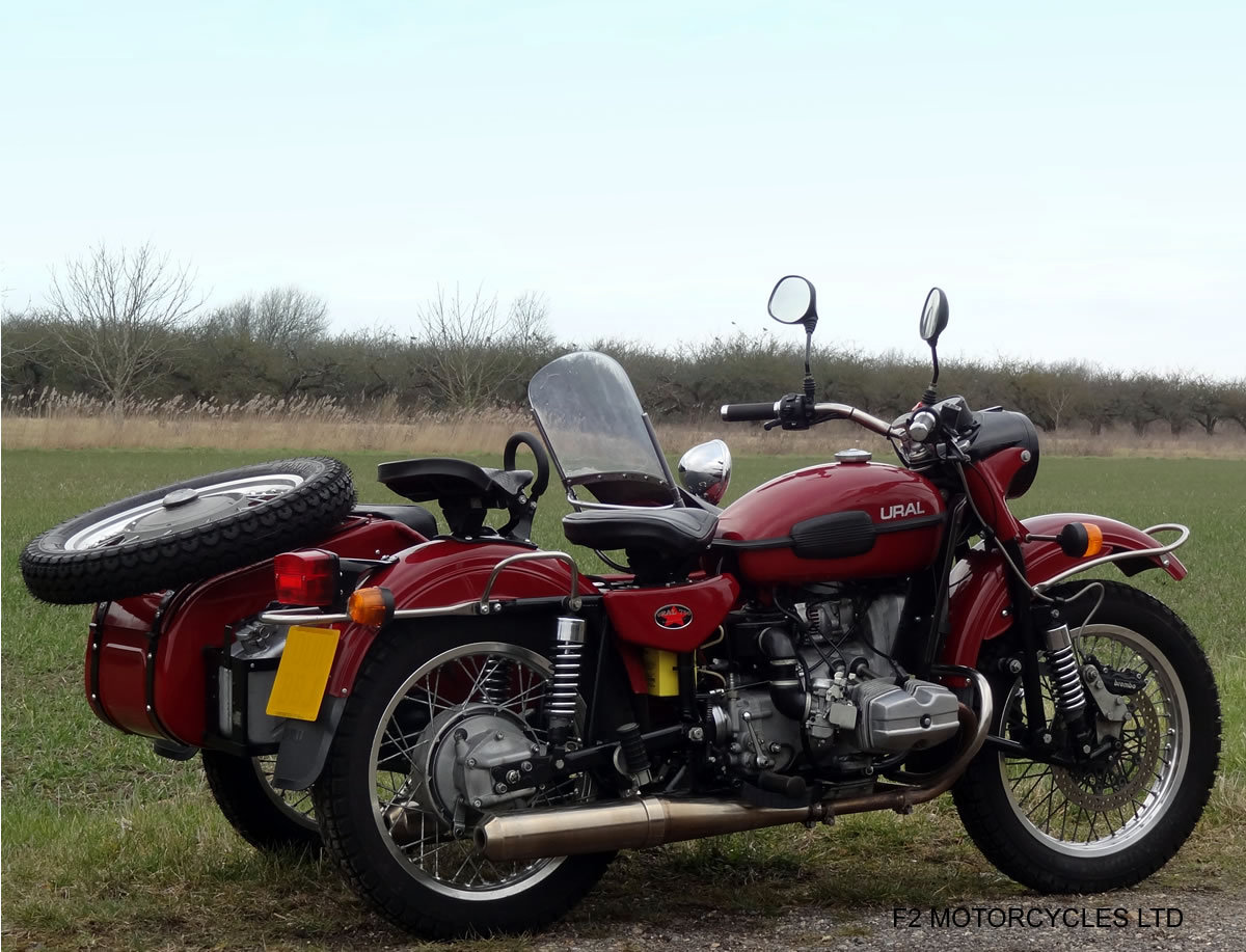 2011 Ural 750 Tourist, low mileage, UK spec, ready to ride SOLD (picture 5 of 6)