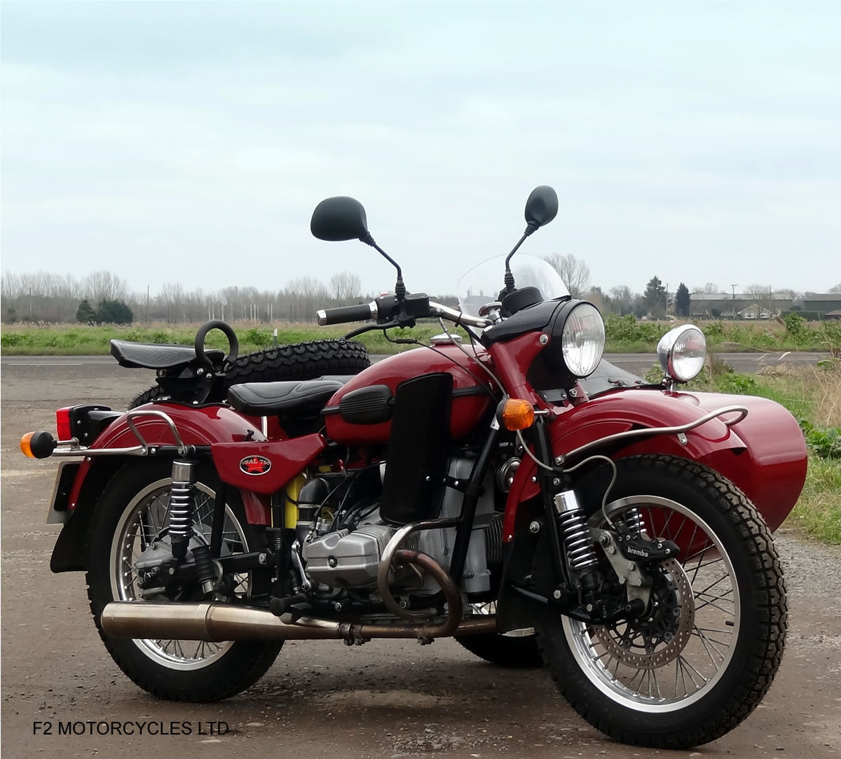 2011 Ural 750 Tourist, low mileage, UK spec, ready to ride SOLD (picture 6 of 6)