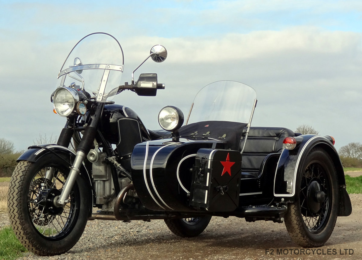 2011 Ural 750 Retro Sidecar, UK spec, UK registered SOLD (picture 2 of 5)