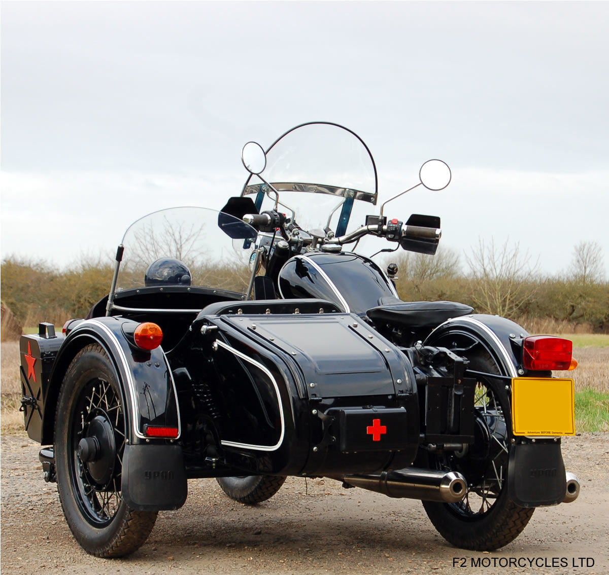 2011 Ural 750 Retro Sidecar, UK spec, UK registered SOLD (picture 3 of 5)