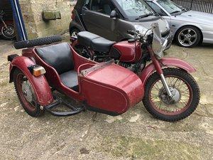 Classic Eastern Block 750cc Outfit with Two Wheel Drive