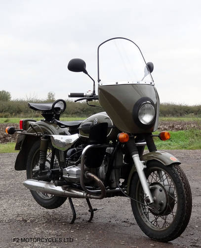 2004 Ural 750 solo, Olive Green, MOTed ready to ride SOLD (picture 1 of 6)