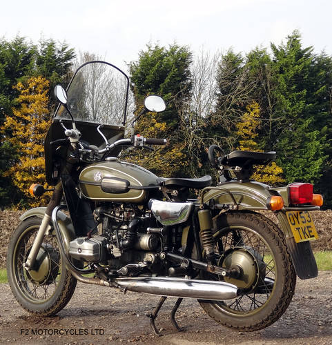 2004 Ural 750 solo, Olive Green, MOTed ready to ride SOLD (picture 4 of 6)