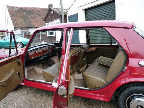 1973 Vanden Plas Princess 1300 automatic, SOLD SOLD (picture 6 of 6)
