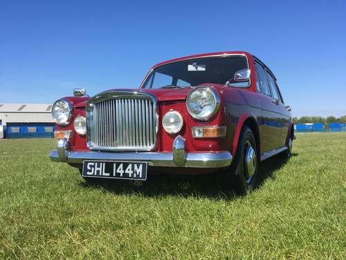 1974 Vanden Plas 1300 Princess at Morris Leslie Auction 25th May SOLD by Auction (picture 1 of 6)