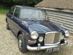 1973 Vanden Plas Princess 1300 Automatic 4 Door Saloon.