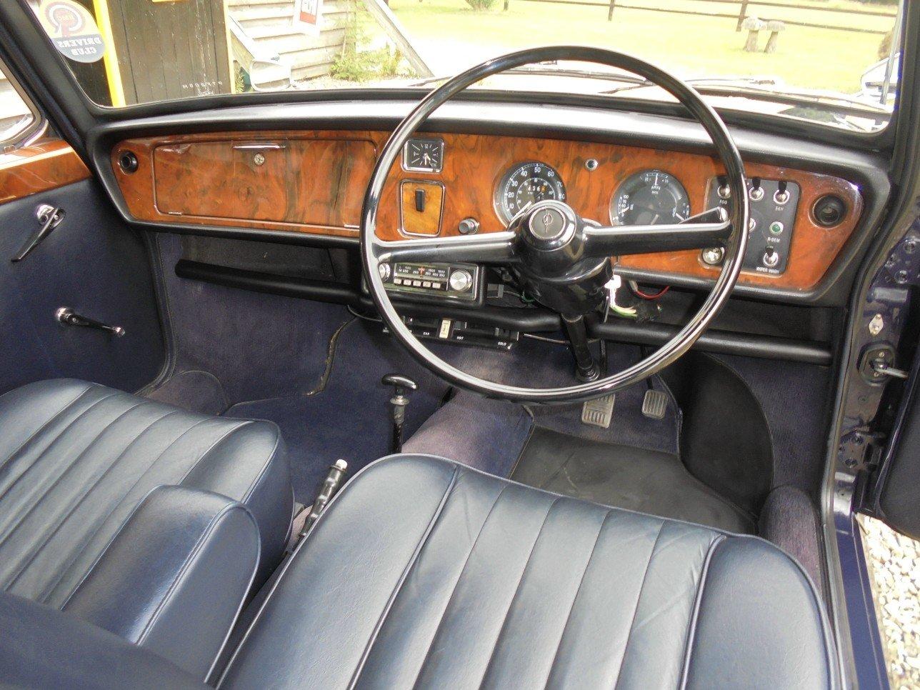 1973 Vanden Plas Princess 1300 Automatic 4 Door Saloon. SOLD (picture 4 of 6)