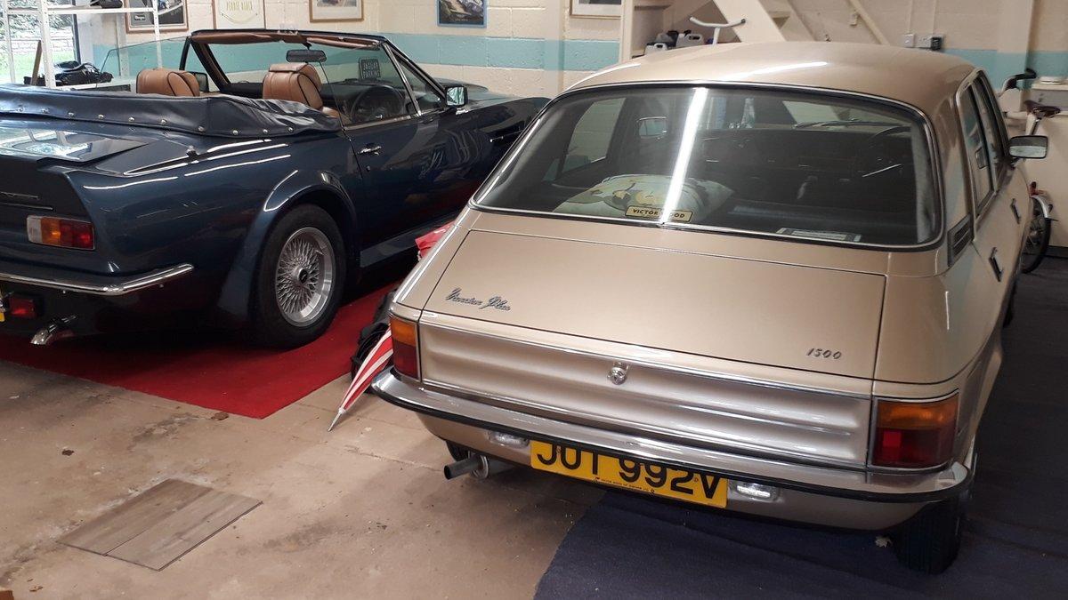 Vanden Plas 1500 Auto 1980 44k Original Concours Museum Show For Sale (picture 5 of 6)