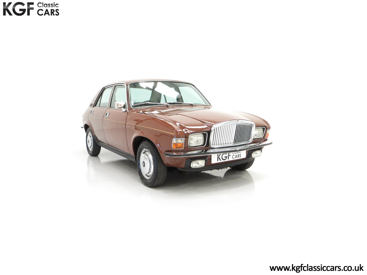 1977 The Most Gracious Allegro, a Vanden Plas 1500, 8,426 Miles SOLD (picture 1 of 24)