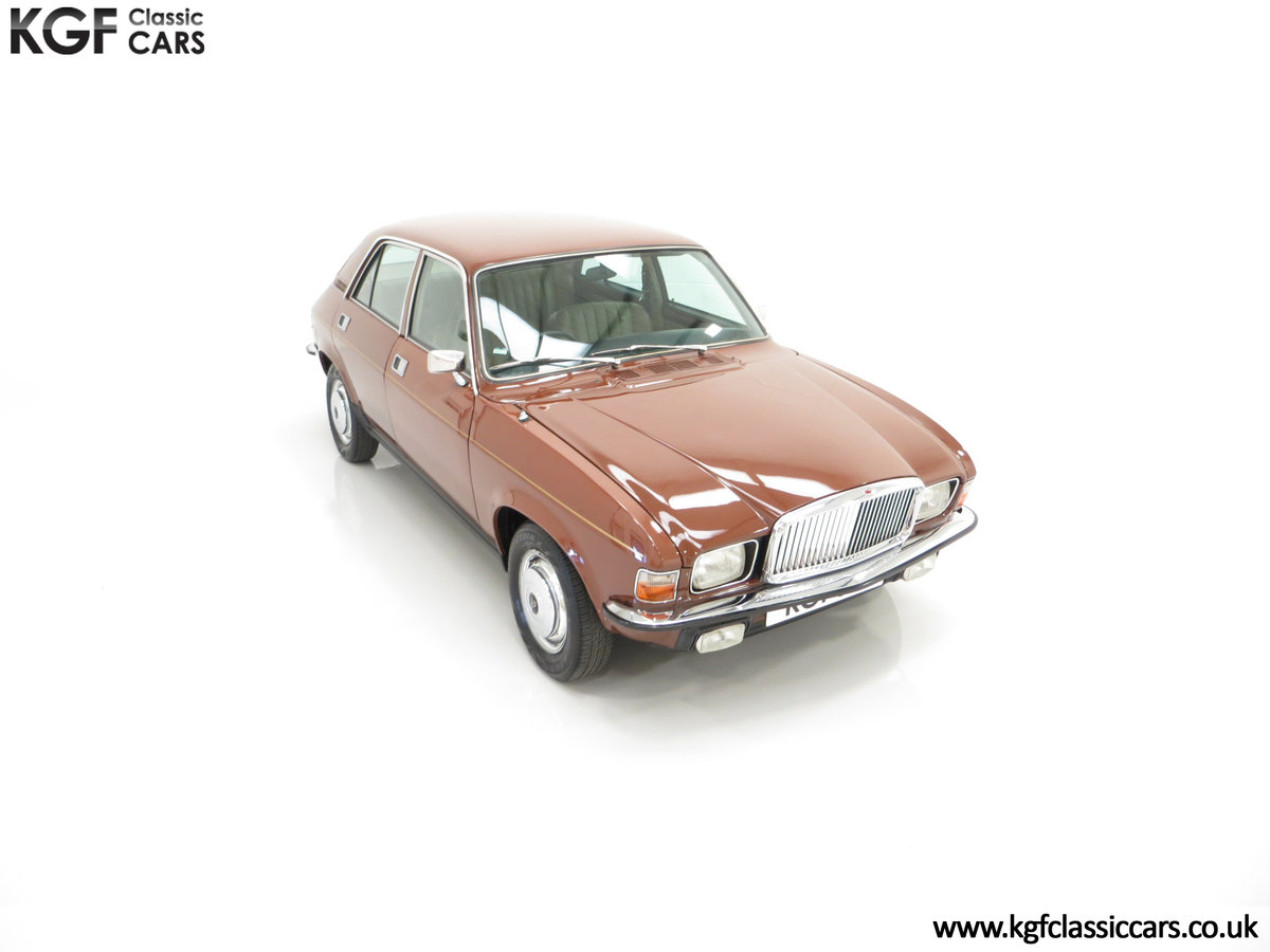 1977 The Most Gracious Allegro, a Vanden Plas 1500, 8,426 Miles SOLD (picture 2 of 24)