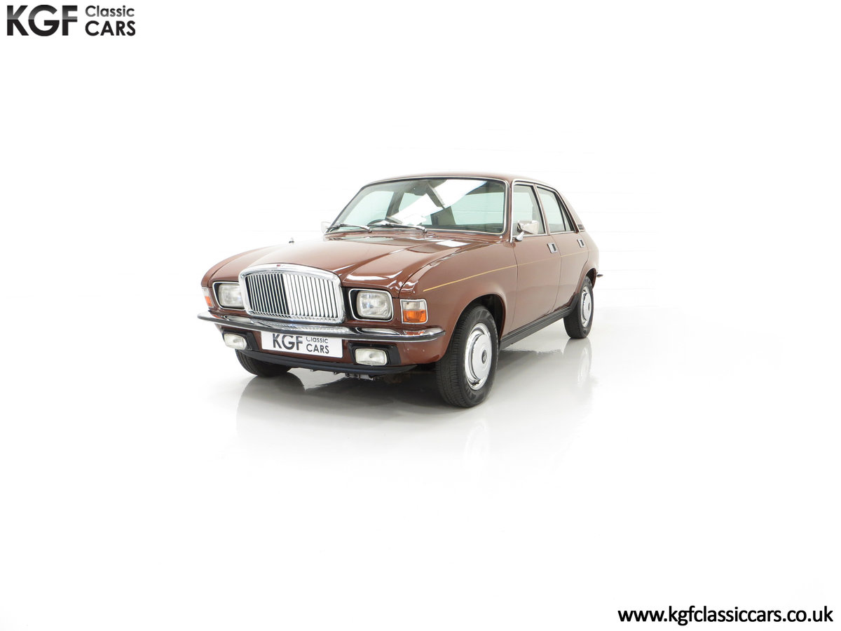 1977 The Most Gracious Allegro, a Vanden Plas 1500, 8,426 Miles SOLD (picture 6 of 24)