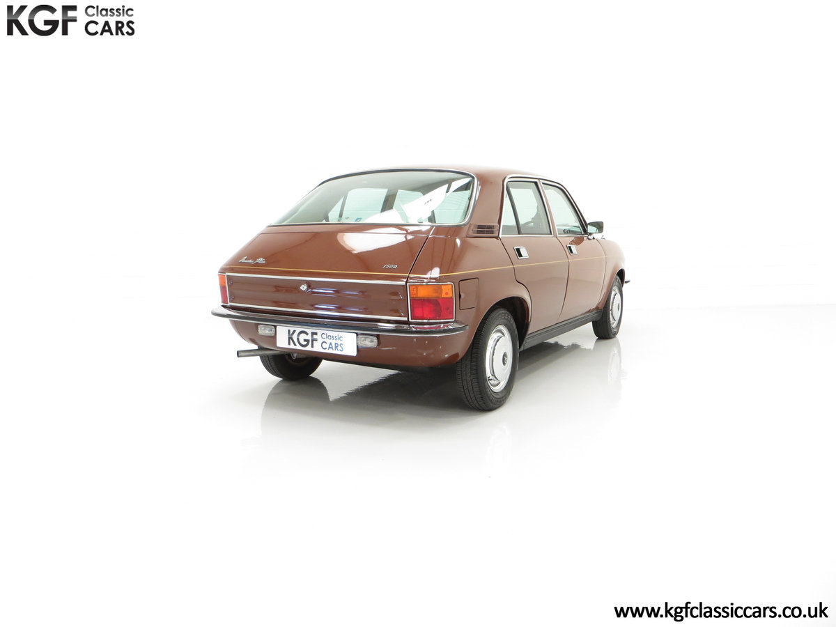 1977 The Most Gracious Allegro, a Vanden Plas 1500, 8,426 Miles SOLD (picture 13 of 24)