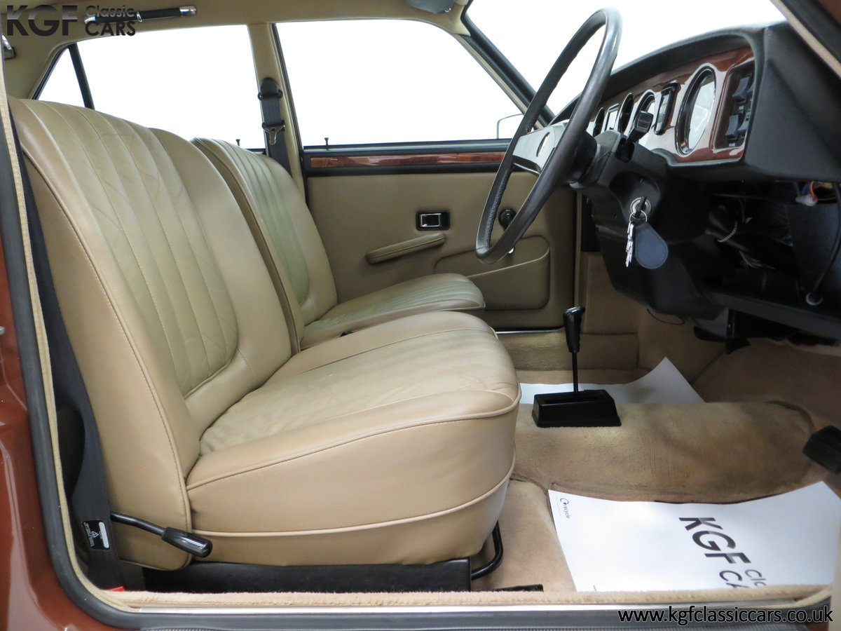 1977 The Most Gracious Allegro, a Vanden Plas 1500, 8,426 Miles SOLD (picture 16 of 24)