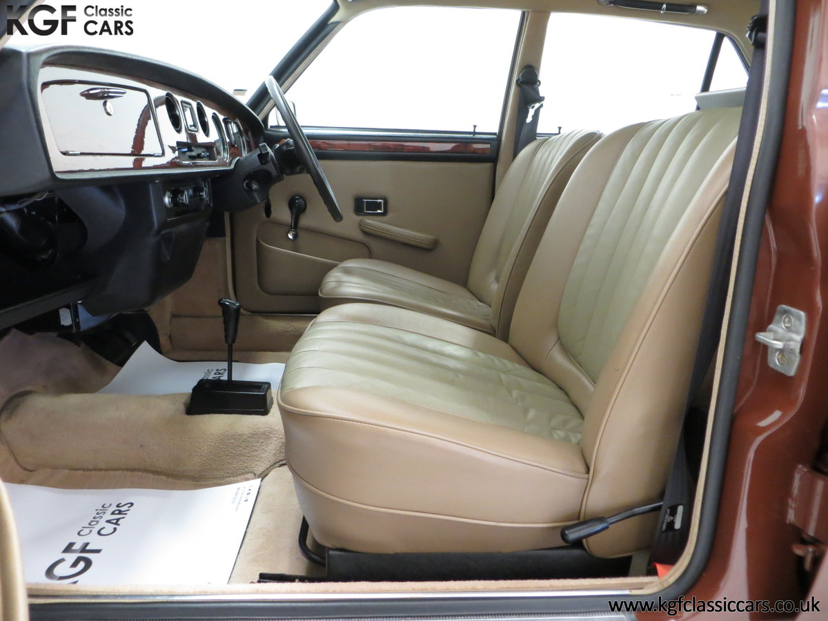 1977 The Most Gracious Allegro, a Vanden Plas 1500, 8,426 Miles SOLD (picture 18 of 24)