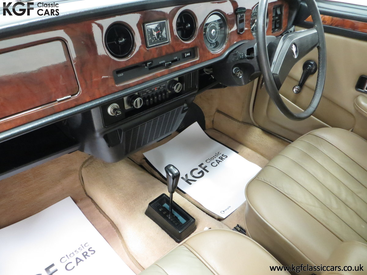 1977 The Most Gracious Allegro, a Vanden Plas 1500, 8,426 Miles SOLD (picture 23 of 24)