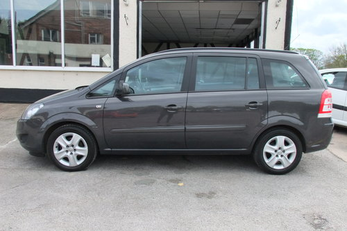 2014 VAUXHALL ZAFIRA 1.8 EXCLUSIV 5DR SOLD (picture 2 of 6)