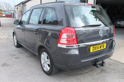 2014 VAUXHALL ZAFIRA 1.8 EXCLUSIV 5DR SOLD (picture 3 of 6)
