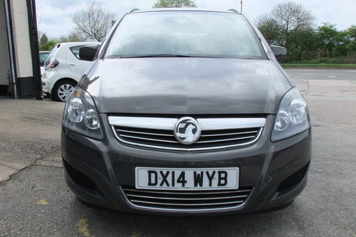 2014 VAUXHALL ZAFIRA 1.8 EXCLUSIV 5DR SOLD (picture 4 of 6)