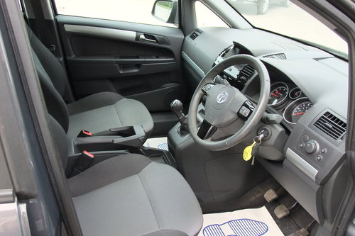 2014 VAUXHALL ZAFIRA 1.8 EXCLUSIV 5DR SOLD (picture 6 of 6)