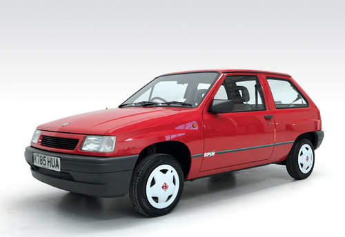1993 Vauxhall Nova 1.2i Spin with just 3,200 miles!! SOLD (picture 1 of 6)