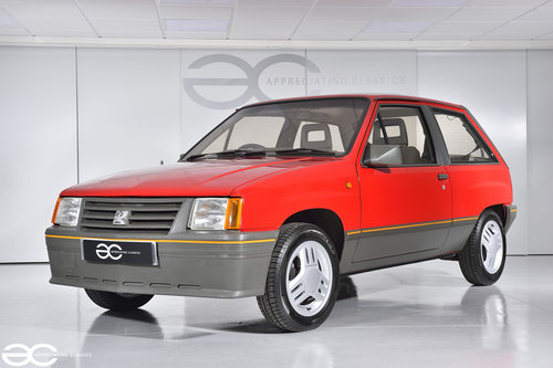 1986 A very rare early Vauxhall Nova 1.3SR with just *16k miles* SOLD (picture 2 of 6)